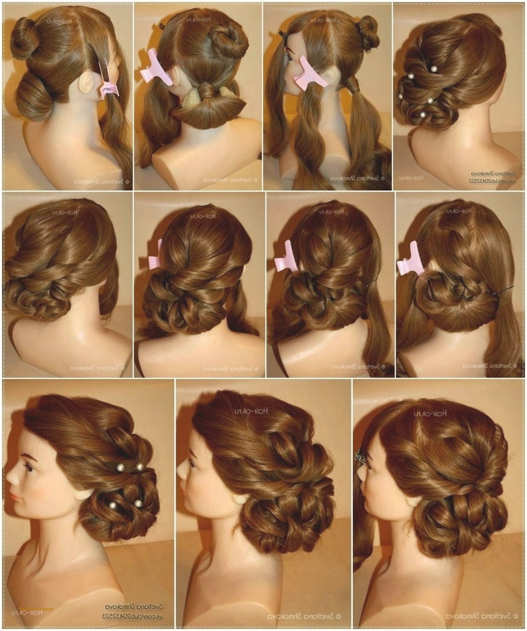 Easy Hairstyles for Short Hair to Do at Home Dailymotion Pretty Good Easy Hairstyles to Do at Home Step by Step Dailymotion