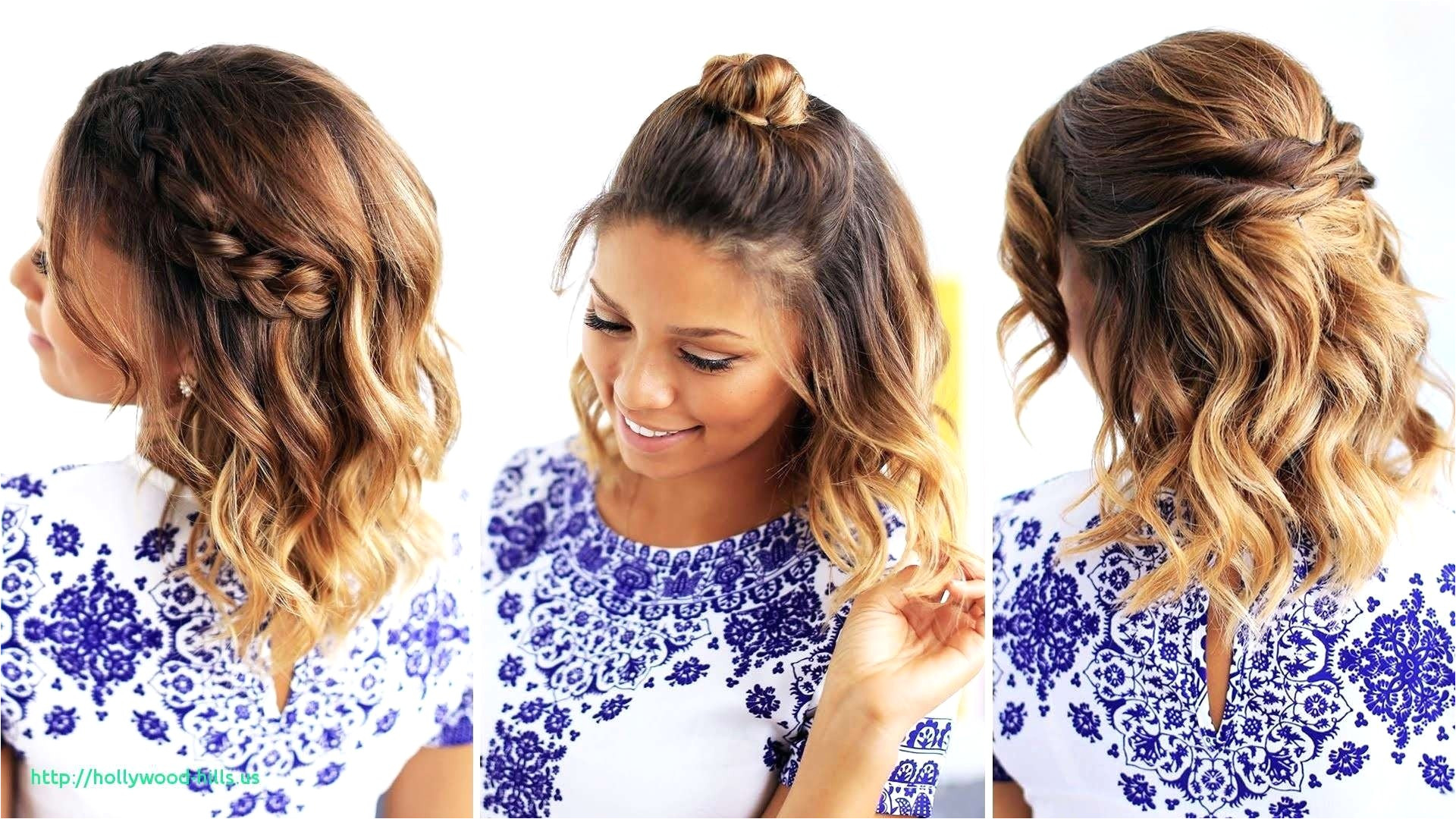 Easy Hairstyles for Short Hair to Do at Home On Dailymotion Awesome Easy Hairstyle Videos for Short Hair – Uternity
