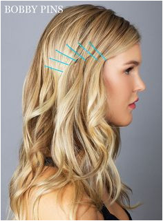 Hair How To 10 Genius Ways to Use Bobby Pins Pince PlateBobby Pin HairstylesEasy