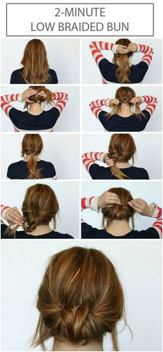 5 Minute Hairdos That Will Transform Your Morning Routine Page 17 of 30 Hairsea