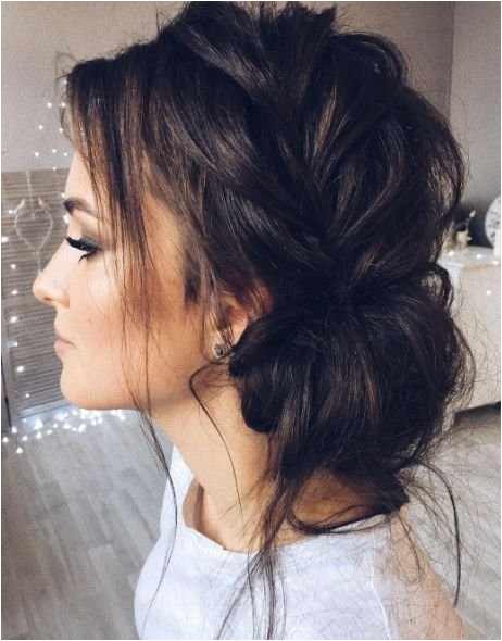 Cute Messy Bun Hairstyles Enchanting Hairstyle Wedding Awesome Messy Hairstyles 0d Wedding