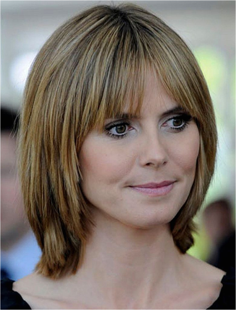 Medium Length Layered Hairstyles No Bangs