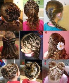 Fun Gymnastics Hair styles for little girls