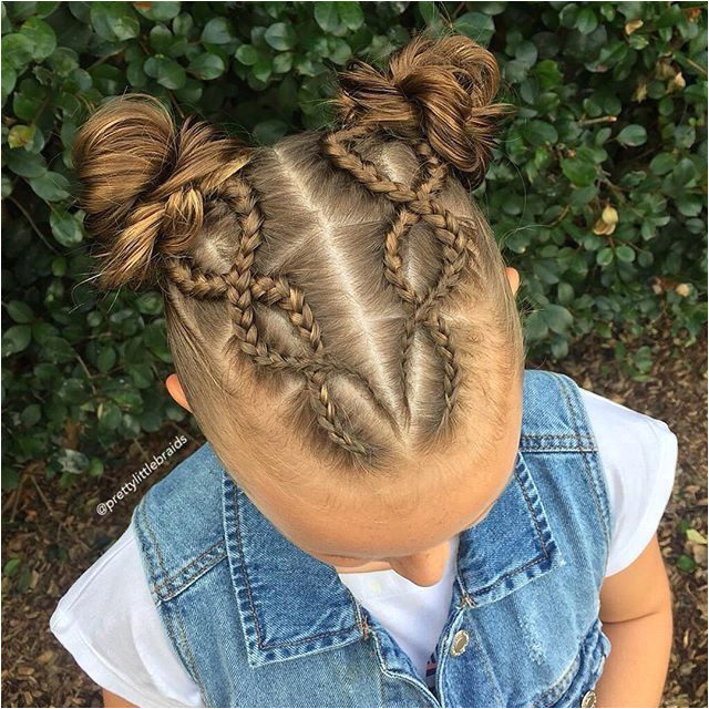Kid braided hair styles