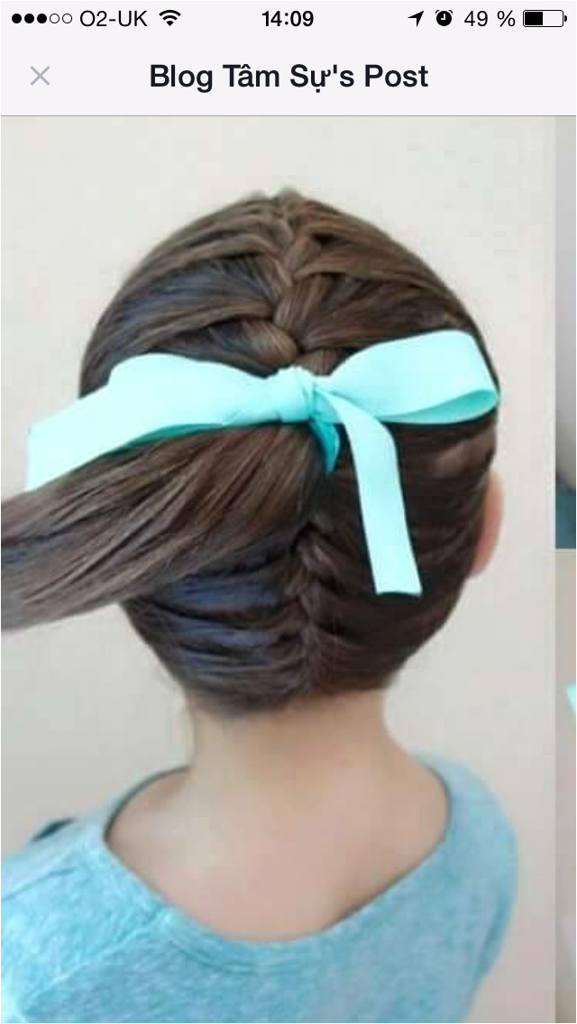 Easy Hair Ideas For School Braided above and below the ponytail