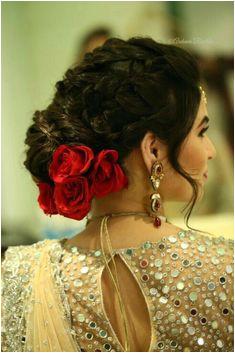 Indian Bridal Hairstyles Trendy Hairstyles Bride Hairstyles Hairstyles Haircuts Flower Hairstyles Hairstyle Wedding Hairstyle Ideas Hair Ideas Sari