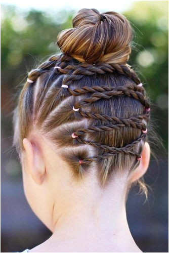 46 Creative And Cute Girls Hairstyles Easy Hairstyles & Accessories for Girls Pinterest