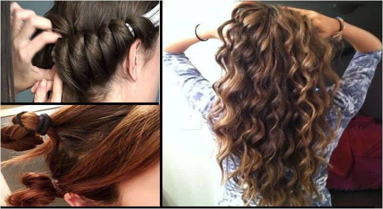Curl your hair easily in 5 minutes without using heat or curl rollers