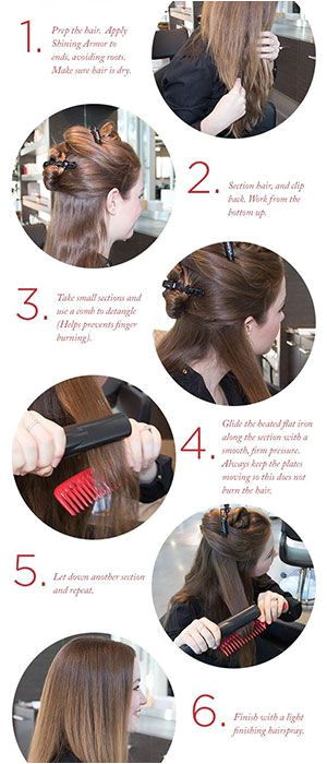How to straighten your hair the RIGHT WAY Hacks tips and tricks to shiny smooth straight hair