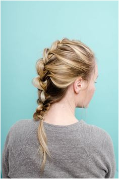 Easy Wonder Woman Inspired Knotted Braid