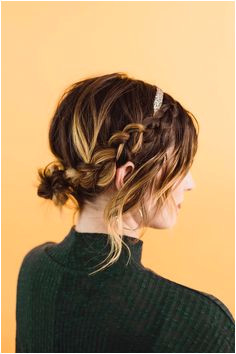 Easy Updo Styles for Medium or Long Hair