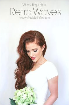 Wedding Hair Retro Waves a pliment Giveaway Retro Waves Hair Retro Curls