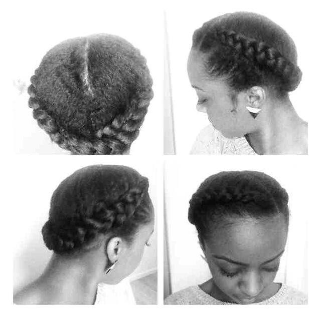 goddess braids on short natural hair Google Search