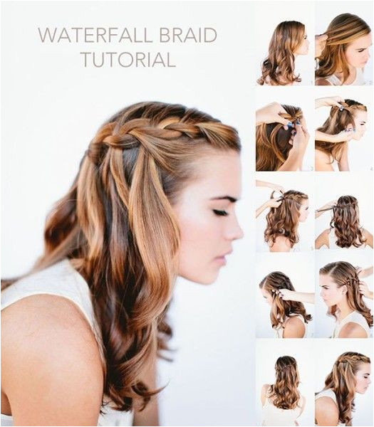 Summer Waterfall Braid Hairstyles with 18 inch hairplusbase ombre extensions Do you ❤ this hairstyles