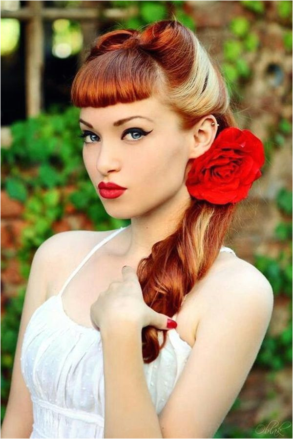 20 Elegant Retro Hairstyles 2019 Vintage Hairstyles for Women Pinup Possibilities