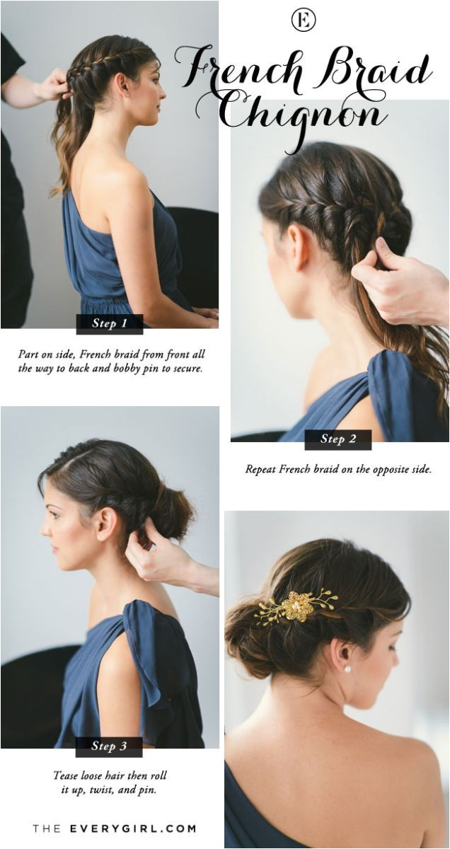 5 Quick and Easy Bridesmaid Hairstyles
