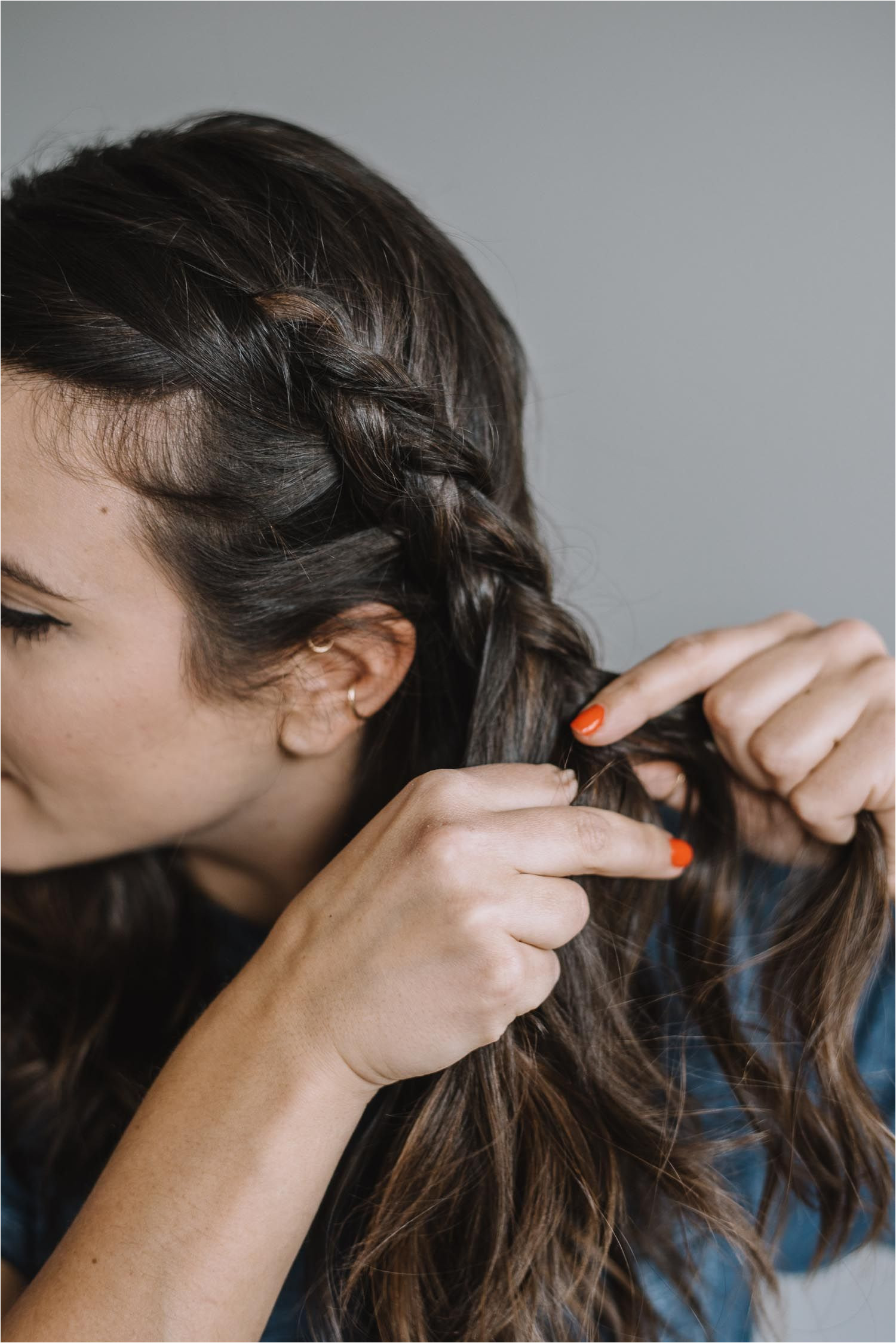 low braided hairstyle easy no heat hairstyles for the office My Style Vita