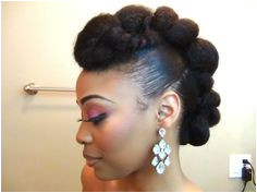 7 Pretty Perfect Natural Hairstyles for Black Brides Natural Updo HairstylesNatural Hair