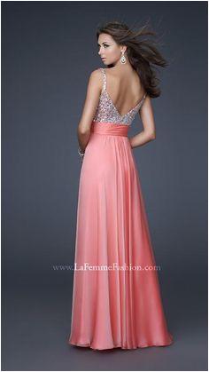 Shop for La Femme prom dresses at PromGirl Elegant long designer gowns cocktail dresses short semi formal dresses and party dresses