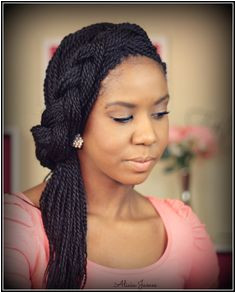 Black Braided Updo For Twists Box Braids Today Hair Styles