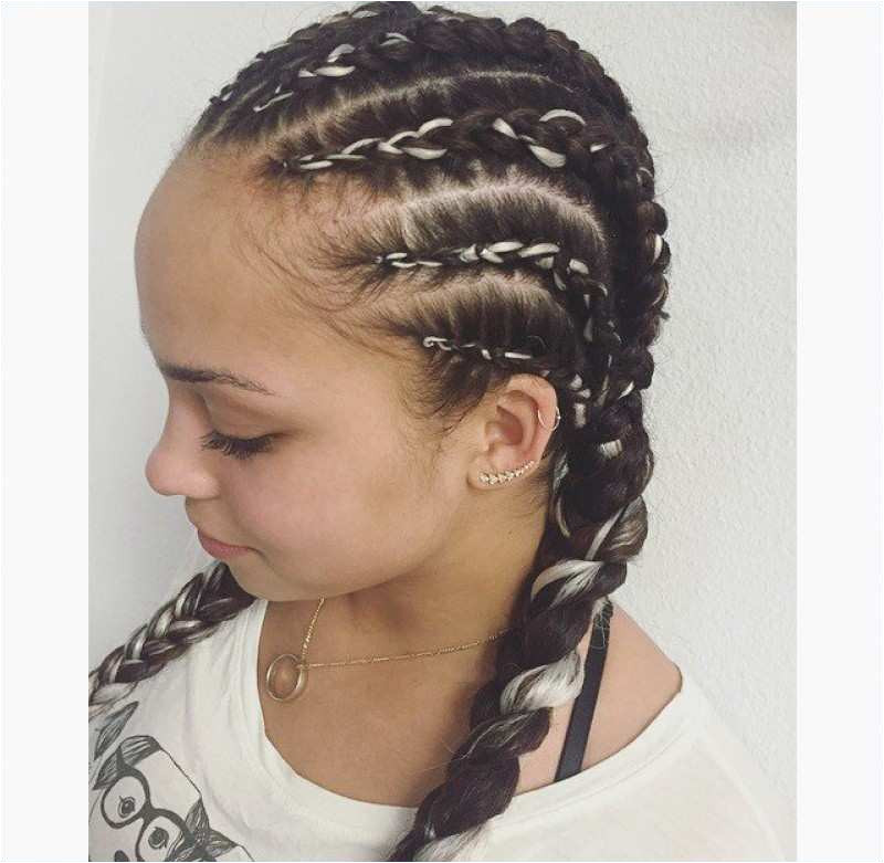 Girl Hairstyles With Braids Fresh Stylish Braided Hairstyles For Black Kids