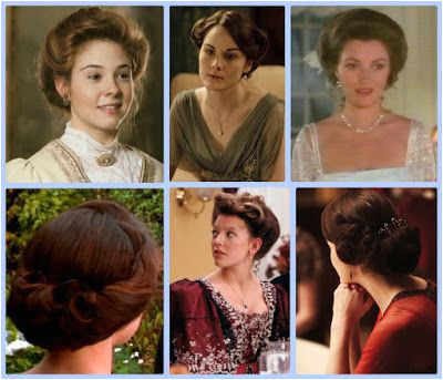 Elegance of Fashion Wednesday Guest Post by Melody and Miss Laurie Historic Hairstyles Period Drama Fashion Week late Victorian era