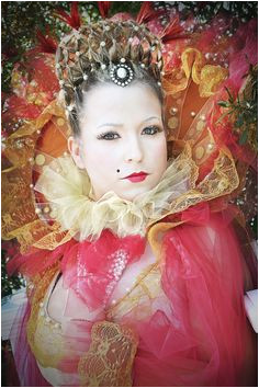 """Elizabethan hair and wardrobe I did for a Hair Shoot for J Thompson Salon Makeup was done by Heather P and Bailey B"