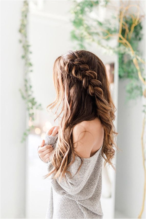 Ethereal engagement at home 100 Layer Cake Everyday Boho Hairstyles