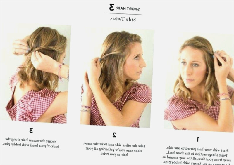 Everyday Hairstyles for Medium Hair Inspirational Exciting Easy Hairstyles for Short Hair – Meupalanque