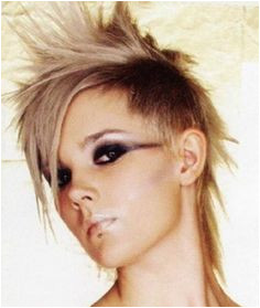 women s hairstyle medium punk Google Search Hair Hairstyle Hairstyle Ideas