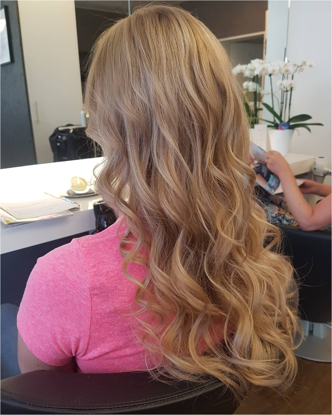 nofilterneeded balayage hair behindthechair haircolor blonde ombre