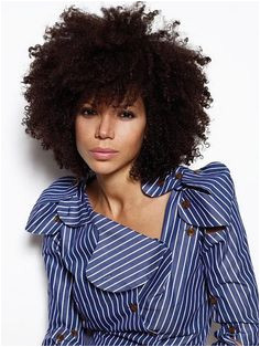 I love her shirt d curls Natural Hair Styles For