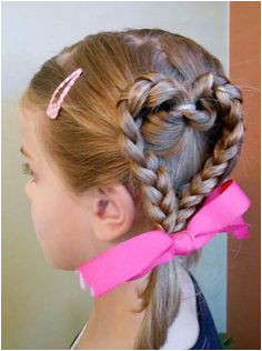 Side heart Pretty Hairstyles Braided Hairstyles Heart Hairstyles School Picture Hairstyles Pageant