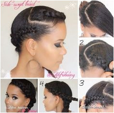 Protective style for natural hair Natural Hair Tips Natural Hair Journey Going Natural