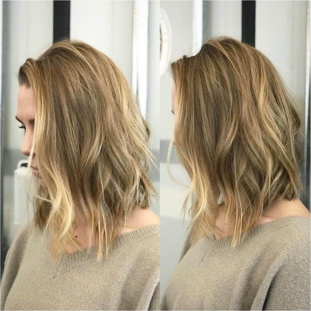 Easy Shoulder Length Medium Haircut for Women Trends 2018