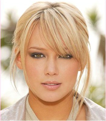 choppy side swept bangs 50 Best Hairstyles For Thin Hair
