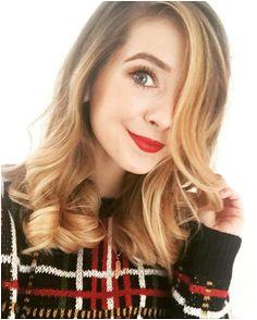 Red Lip Zoe Sugg Zoella Beauty Zoella Makeup Hair Makeup Hair Beauty