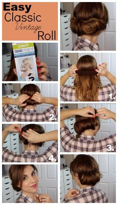 vintage roll tutorial 923—1600 Haircuts For Fine Hair