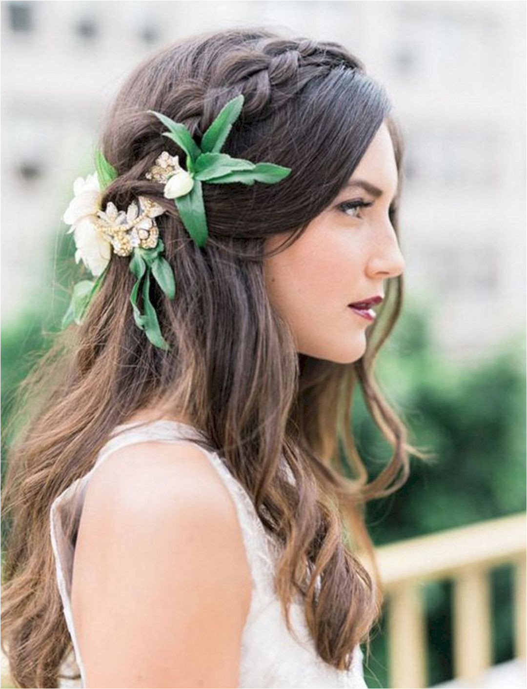 Gloomy 80 Beautiful and Adorable Half Up Half Down Wedding Hairstyles Ideas s