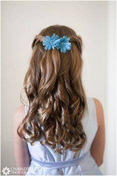 Flower Girl Hairstyles Half Up 26 Best Flower Girl Hair for Hailey Images