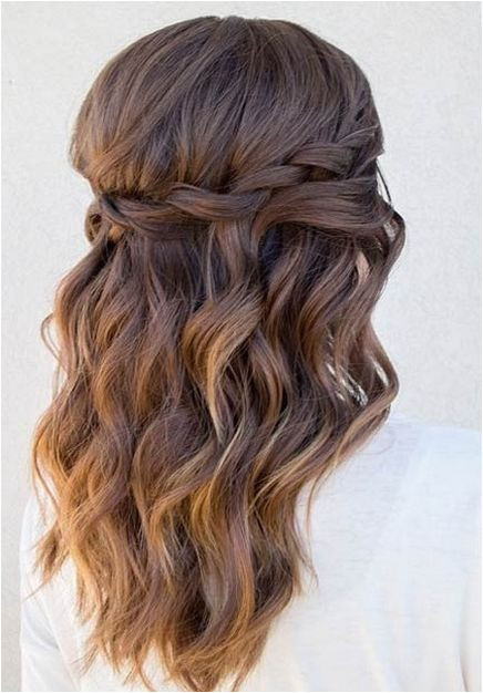 Formal Hairstyles Medium Hair Down 100 Gorgeous Half Up Half Down Hairstyles Ideas