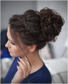 Curly Messy Bun Prom Updo PromHairstylesMessy Bridesmaid Updo Hairstyles Hairstyles For Home ing Updo