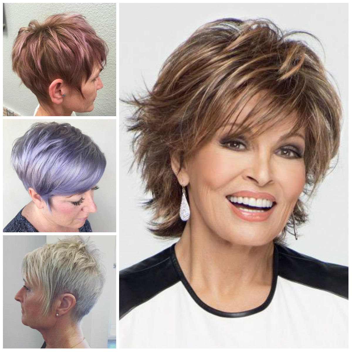 Gone are the days when older women used to stick with a monotone hairstyle Nowadays older women also love to keep up with the fashion in order to have a