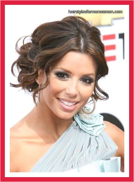 Formal Hairstyles Over One Shoulder Hairstyle for E Shoulder Dress My Style