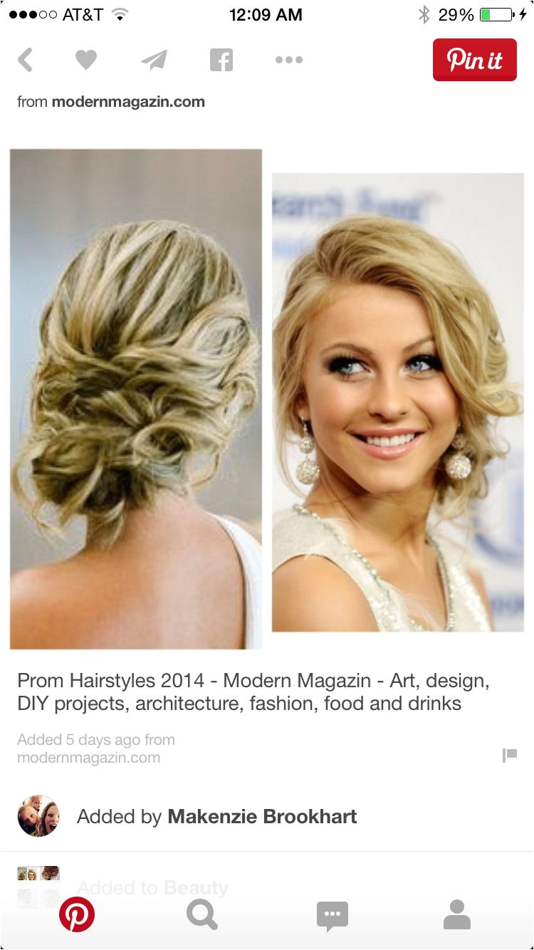 messy loose updo