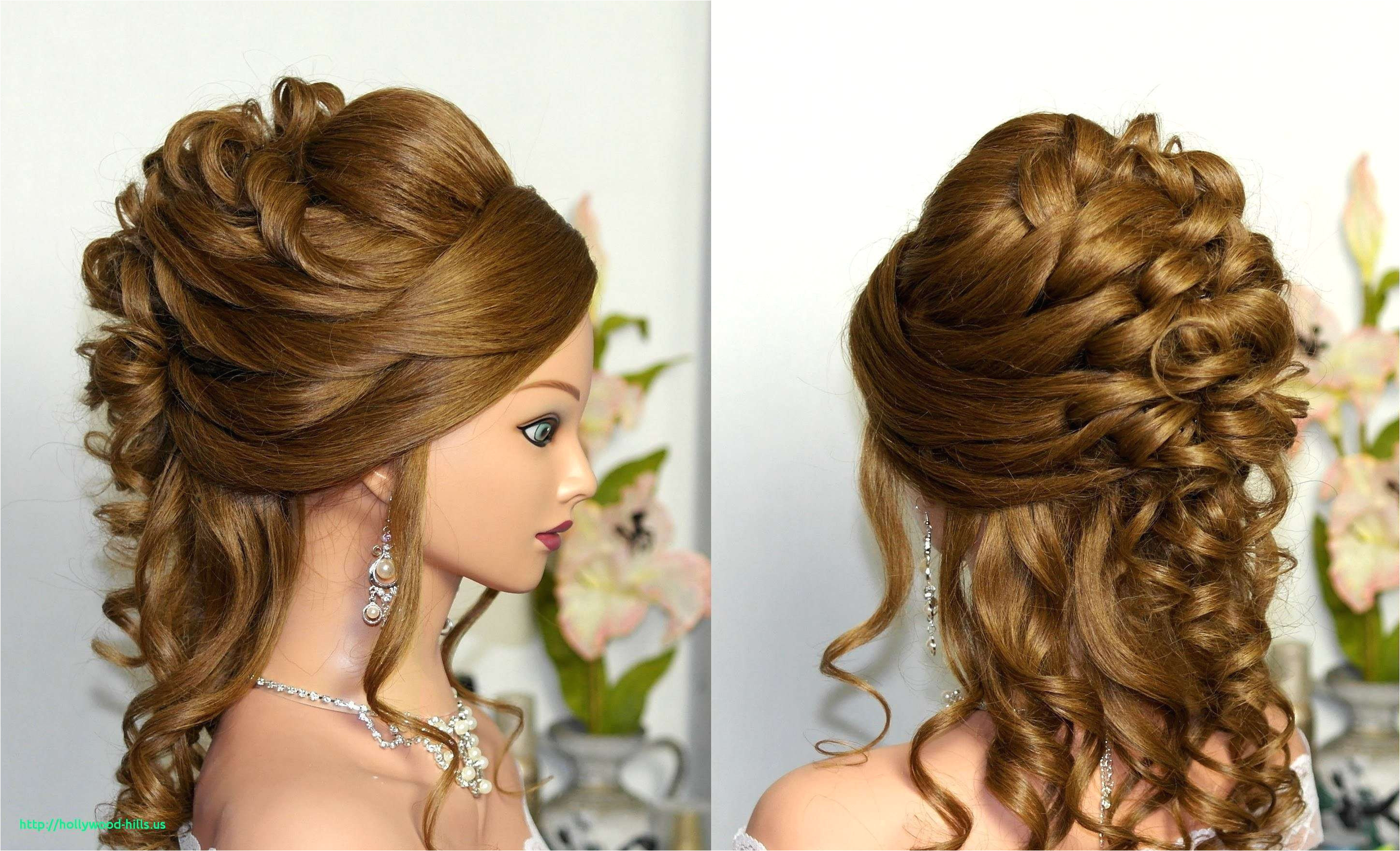 Bridesmaid Hairstyles for Short Curly Hair Inspirational Wedding Hairstyles Curls to the Side Elegant 32 Modern