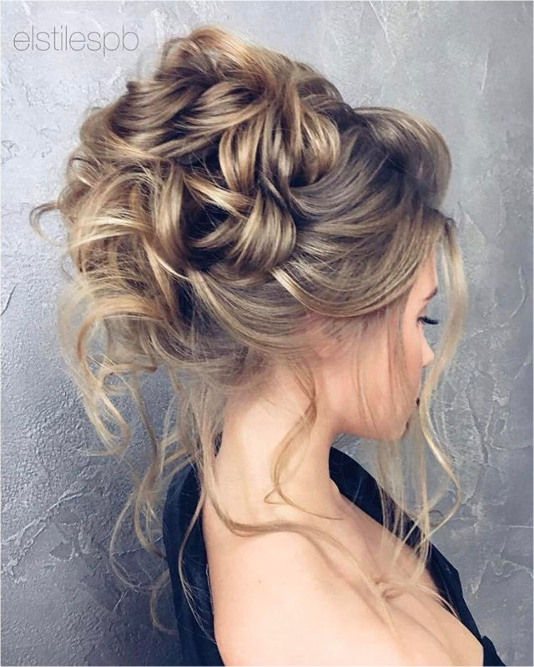 Formal Hairstyles Updos From Back Beautiful Updo Hairstyles Upstyles Elegant Updo Chignon Bridal