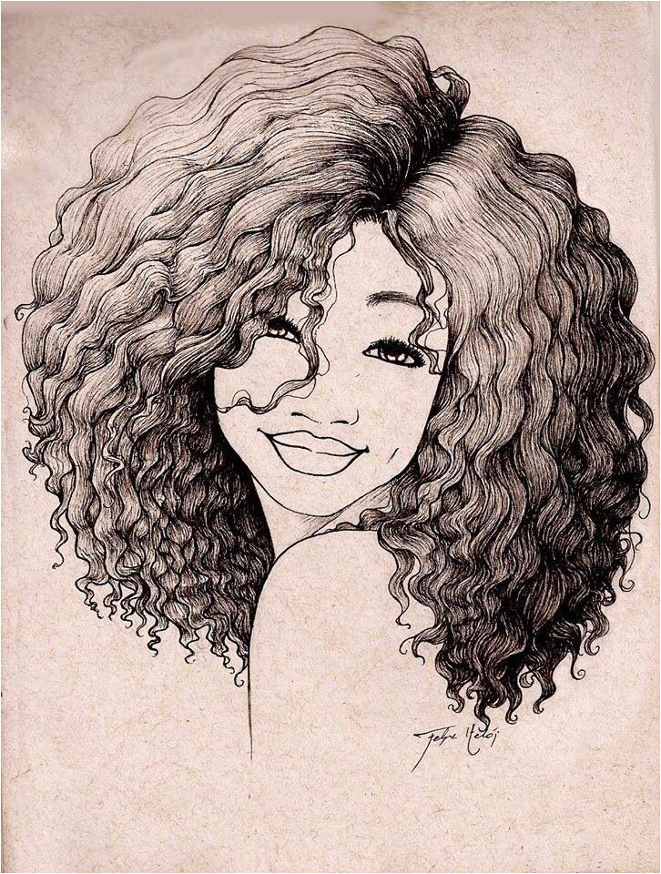 Girl Hairstyles Art Pin by Alesia Leach On Black and White Sketches