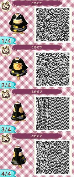 Top 10 Animal Crossing New Leaf Kimono QR Codes