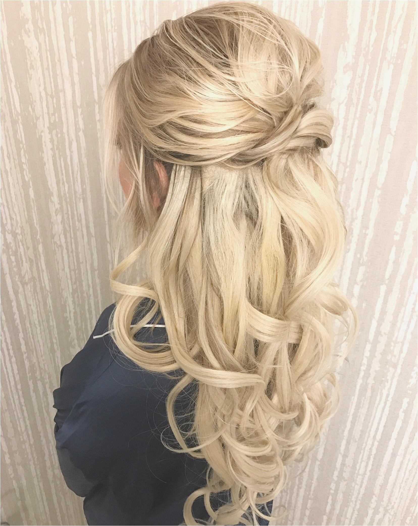 Hairstyles for Wedding Guest Splendid Half Up Half Down by Shelbywhite Hmu Hair Pinterest Elegant